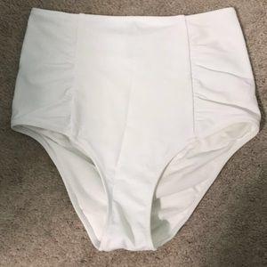 aerie Swim - Aerie White High Waisted Swim bottoms